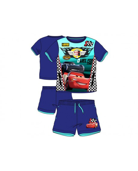 Box da 12pz di completi T-Shirt e Pantaloncino Car - CARSCOMP1