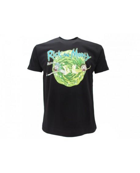T-Shirt Rick And Morty Portale - RAM2.NR