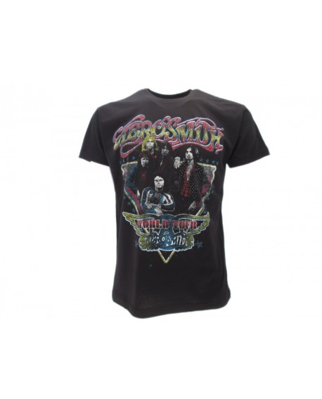 T-Shirt Music Aerosmith - World Tour - RAE2