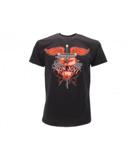 T-Shirt Music Bon Jovi - RBJ1