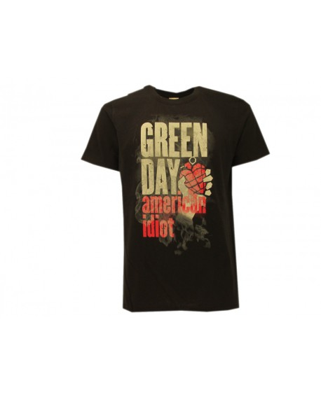 T-Shirt Music Green Day - American Idiot - RGDL