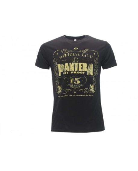 T-Shirt Music Pantera - Logo - RPAL