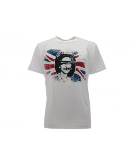 T-Shirt Music Sex Pistols God save the Queen - RSPQ
