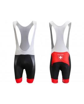 Pantaloni/Salopette Ciclismo Svizzera - CICSVIP01