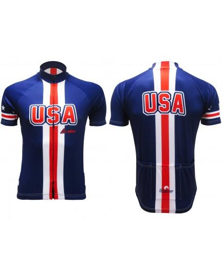 Maglia Ciclismo U.S.A - CICUSAM01