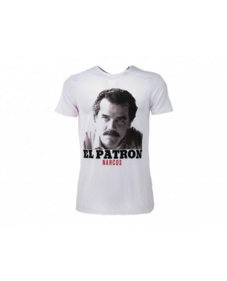 T-Shirt Narcos El Patron - NAR6.BI