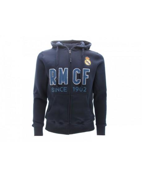Felpa con cappuccio e zip Ufficiale Real Madrid C. - RMFA3