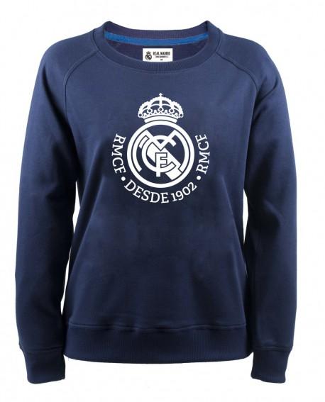Felpa girocollo donna Ufficiale Real Madrid C.F RM - RMFD1