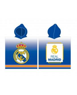 Poncho telo da mare ufficiale Real Madrid C.F coto - RMPON1