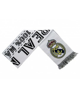 Sciarpa Ufficiale Real Madrid C.F. mod. jacquard - RMSCRJ3