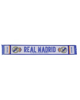 Sciarpa Ufficiale Real Madrid C.F. mod. jacquard R - RMSCRJ5