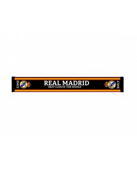 Sciarpa Ufficiale Real Madrid C.F. mod. jacquard R - RMSCRJ6
