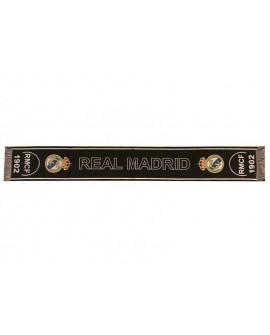 Sciarpa Ufficiale Real Madrid C.F. mod. jacquard R - RMSCRJ7
