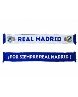 Sciarpa Ufficiale Real Madrid C.F modello tubolare - RMSCRT1