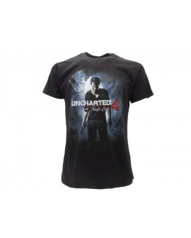 T-Shirt Uncharted 4: Fine di un Ladro - UNC4.NR
