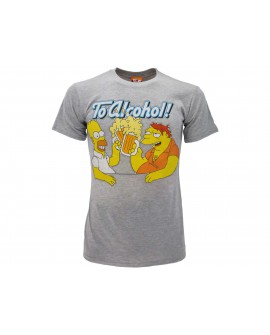 T-Shirt Simpsons Homer & Barney boccale - SIMBOC.GR