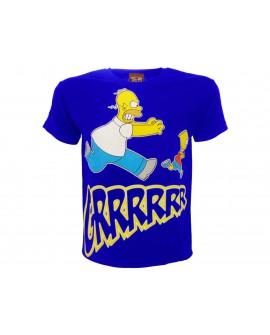 T-Shirt Simpsons Homer & Bart Grrrr - SIMGRR.BR