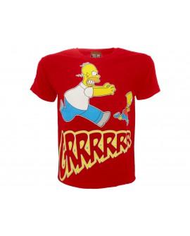 T-Shirt Simpsons Homer & Bart Grrrr - SIMGRR.RO