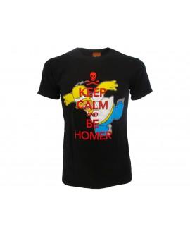 T-Shirt Simpsons Homer keep calm - SIMKCAL.NR
