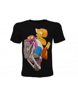 T-Shirt Simpsons Moto - SIMMOTO.NR