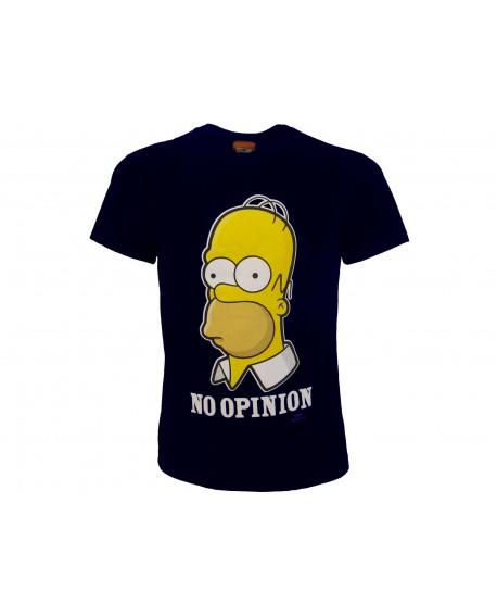 T-Shirt Simpsons No Opinion - SIMOPIN.BN