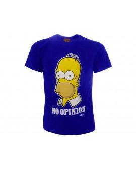 T-Shirt Simpsons No Opinion - SIMOPIN.BR