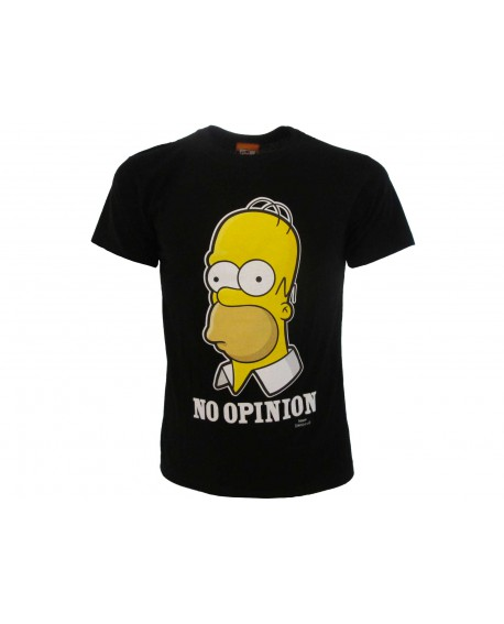 T-Shirt Simpsons No Opinion - SIMOPIN.NR
