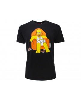 T-Shirt Simpsons Poltrona - SIMPOL.BN