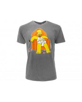 T-Shirt Simpsons Poltrona - SIMPOL.GR