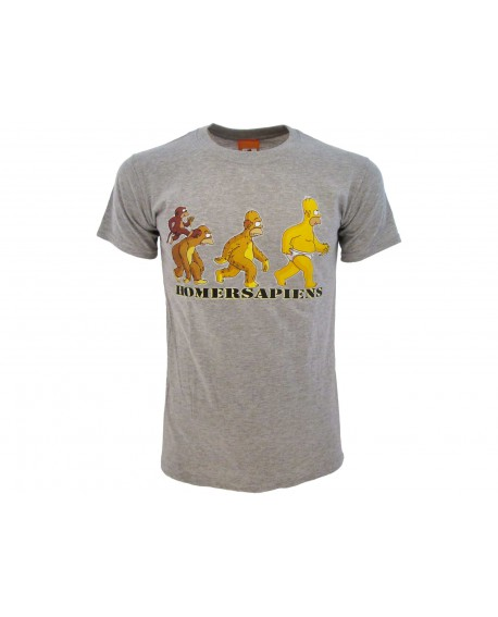 T-Shirt Simpsons Sapiens - SIMSAP.GR