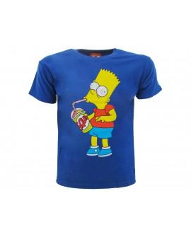 T-Shirt Simpsons Bart Slurp - SIMSLUR.BR