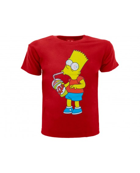 T-Shirt Simpsons Bart Slurp - SIMSLUR.RO
