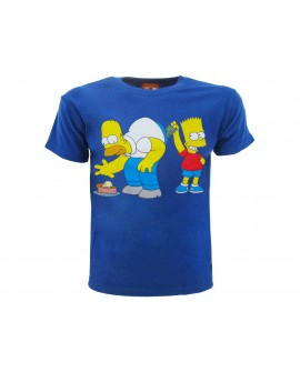 T-Shirt Simpsons Homer e Bart dollari - SIMSOL.BR