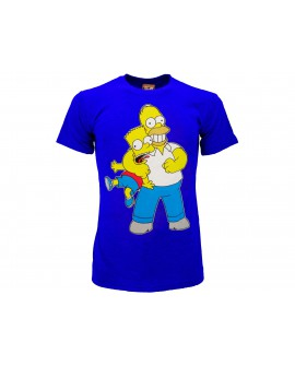 T-Shirt Simpsons Homer & Bart strozzo - SIMSTRO.BR