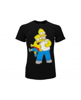 T-Shirt Simpsons Homer & Bart strozzo - SIMSTRO.NR