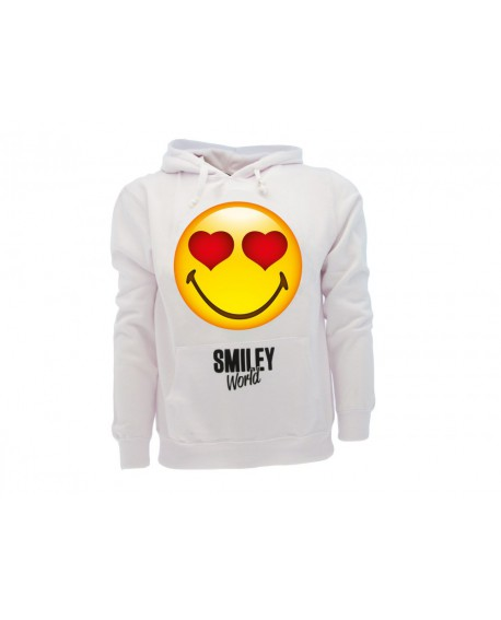 Felpa Smiley World Original Cuori - SMICUOF.BI
