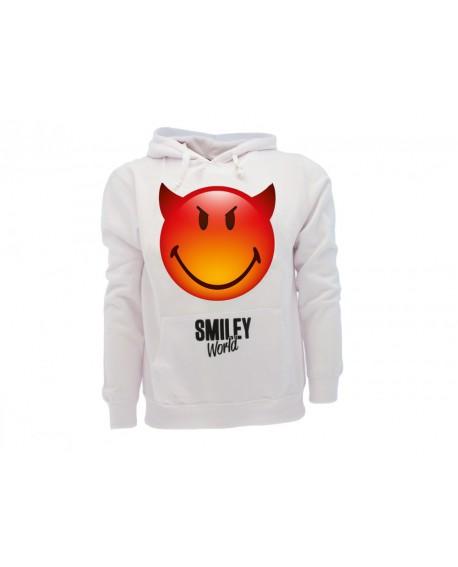Felpa Smiley World Original Diavoletto - SMIDIAVF.BI