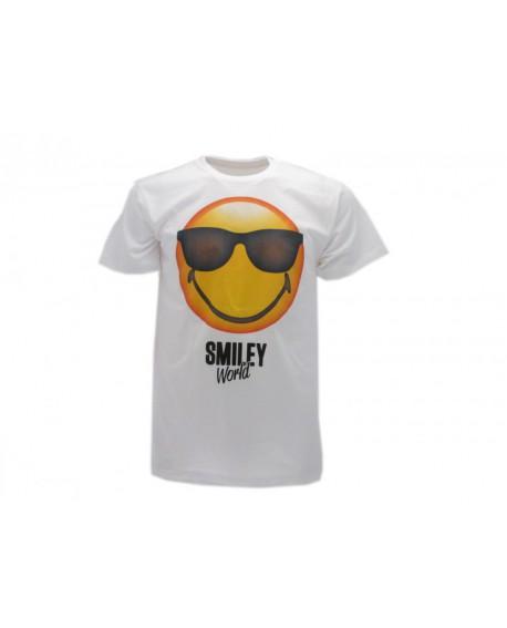 T-Shirt Smiley World Original Occhiali - SMIOCCH.BI