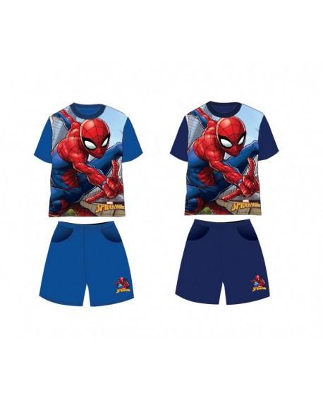 Box Spiderman da 12pz di completi T-Shirt e Pantal - SPICOMP1