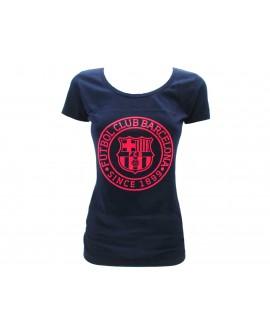 T-shirt lady Ufficiale FCB Barcelona 5001CWCFM - BARTSHL1