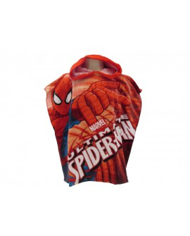 Poncho Telo da Mare Spiderman 100% cotone - SPIPON1