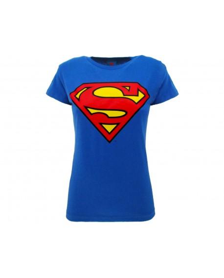 T-Shirt Superman Logo Lady - SULL.BR