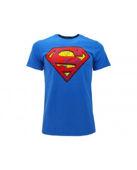 T-Shirt Superman Logo Vintage - SULVIN.BR