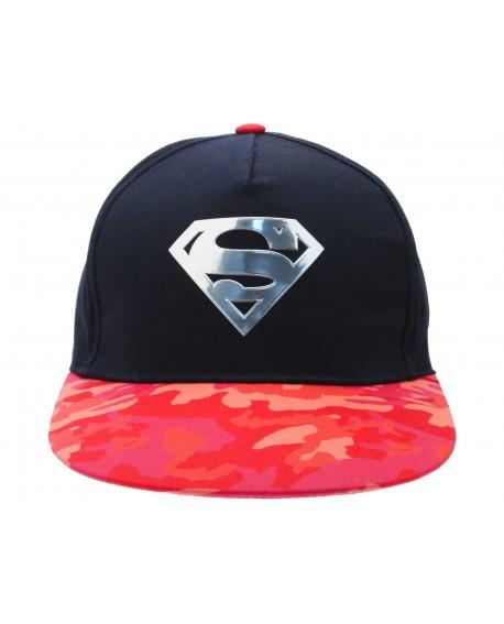 Cappello Superman logo in rilievo - SUPCAP1