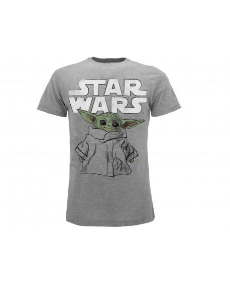 T-Shirt Star Wars Mandalorian - Grogu - SWM1.GRM