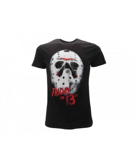 T-Shirt Venerdì 13 Maschera - V13.NR