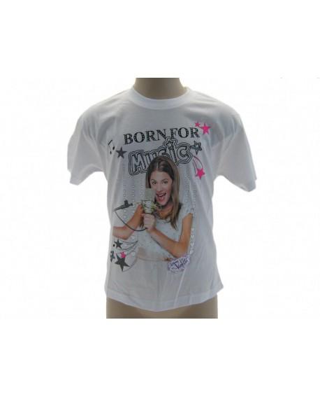 T-Shirt Violetta Disney Born For Music - VIOBO.BI