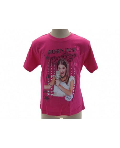 T-Shirt Violetta Disney Born For Music - VIOBO.FX