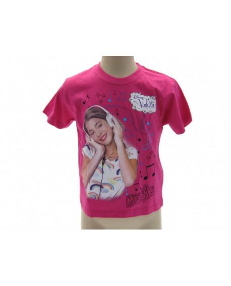 T-Shirt Violetta Disney Cuffie - VIOCU.FX