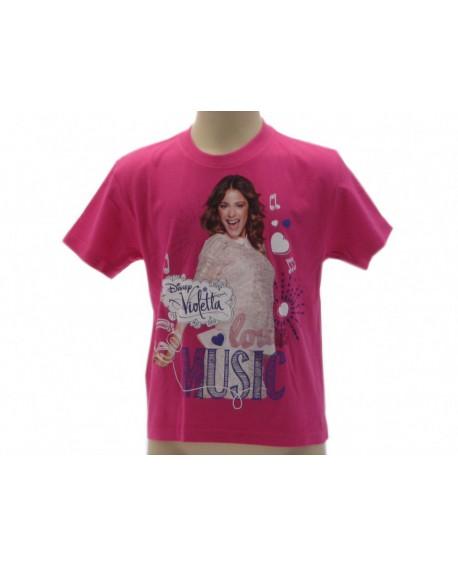 T-Shirt Violetta Disney Salto - VIOSA.FX